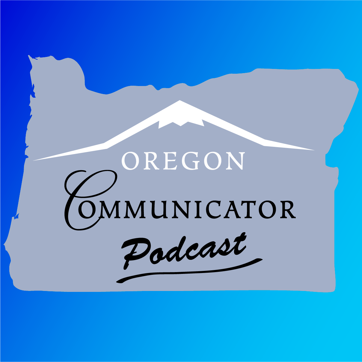 Oregon Communicator Podcast Logo